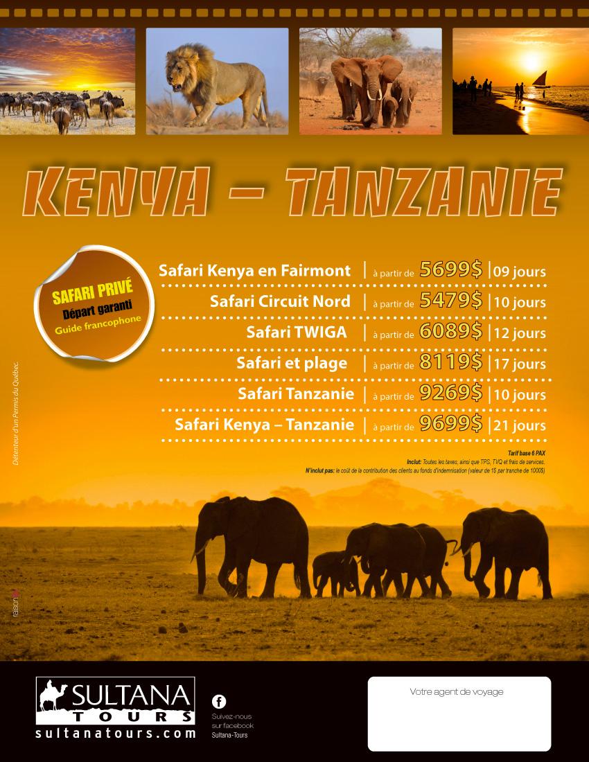 Kenya Tanzanie Promotion Sultana 2019